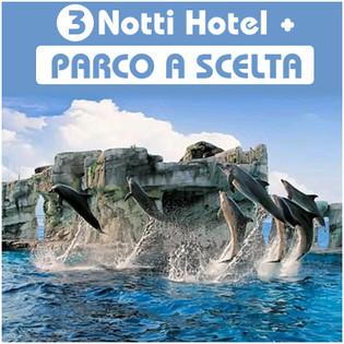 Parco divertimento + Hotel (3 giorni bassa stagione)