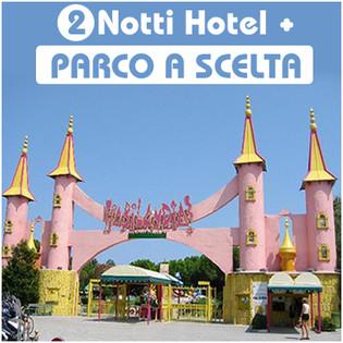 Parco divertimento + Hotel (2 giorni bassa stagione)