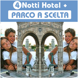 Parco divertimento + Hotel (4 giorni bassa stagione)